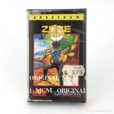 Videojuegos y Consolas: ZONE TROOPER PRECINTADO. MCM ESPAÑA GAMEBUSTERS CASCADE GAMES 1989 48K SINCLAIR ZX SPECTRUM CASSETTE. Lote 230310355