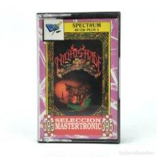 Videojuegos y Consolas: NIGHTSHADE DRO SOFT ESPAÑA ULTIMATE 1988 ISOMETRIC KNIGHT LORE ALIEN 8 SINCLAIR ZX SPECTRUM CASSETTE. Lote 230644870