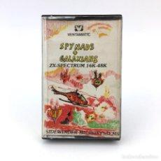 Videojuegos y Consolas: SPYNADS + GALAXIANS VENTAMATIC SIDEWINDER MICRO-SYSTEMS SINCLAIR ZX SPECTRUM 16K CASSETTE ULTRA RARO. Lote 230923125