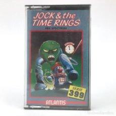 Videojuegos y Consolas: JOCK & THE TIME RINGS PRECINTADO Z COBRA ATLANTIS GUARDIAN JUEGO PARA SINLCLAIR ZX SPECTRUM CASSETTE. Lote 231089730