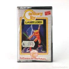 Videojuegos y Consolas: LASER LORD MIND GAMES ESPAÑA CENTURY CITY 1985 GUERRERO MARCIANOS 48K SINLCLAIR ZX SPECTRUM CASSETTE. Lote 231089845