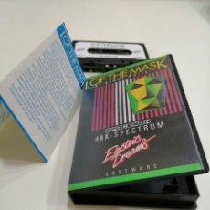 Videojuegos y Consolas: I, OF THE MASK - JUEGO SPECTRUM COMPLETO - ELECTRIC DREAMS SOFTWARE 1985 - EXCELENTE ESTADO. Lote 231179220