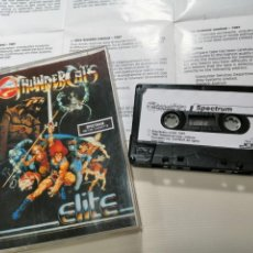 Videojuegos y Consolas: THUNDERCATS - JUEGO SPECTRUM COMPLETO - ELITE SYSTEMS LTD. GARGOYLE GAMES 1987 - EXCELENTE ESTADO. Lote 231416620