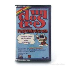 Videojuegos y Consolas: UN DOS TRES, RESPONDA OTRA VEZ PARANINFO SOFT 1984 MAYRA CHICHO IBAÑEZ SERRADOR SPECTRUM ZX CASSETTE. Lote 231681340