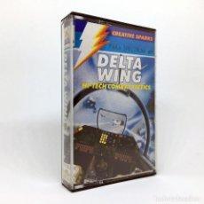 Videojuegos y Consolas: DELTA WING - COMPULOGICAL ESPAÑA TACTICAS DE COMBATE HI TECH ALA JUEGO SINCLAIR ZX SPECTRUM CASSETTE. Lote 231681410