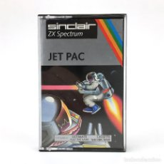 Videojuegos y Consolas: JET PAC / EDICION ESPAÑOLA ULTIMATE PLAY THE GAME LUNAR JETMAN 16K 48K SINCLAIR ZX SPECTRUM CASSETTE. Lote 232080625