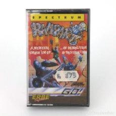 Videojuegos y Consolas: RAMPARTS PRECINTADO ERBE LOMO ROSA GO! 1988 MEDIEVAL RAMPAGE MONSTRUOS SINCLAIR ZX SPECTRUM CASSETTE. Lote 232082840