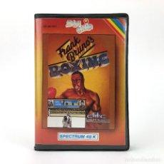 Videojogos e Consolas: FRANK BRUNO´S BOXING / ESTUCHE ZAFI CHIP ELITE SYSTEMS 1985 BOXEO 48K SINCLAIR ZX SPECTRUM CASSETTE. Lote 232537250