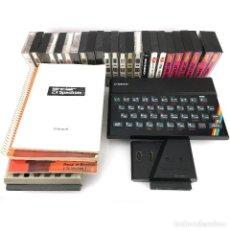 Videojuegos y Consolas: LOTE SINCLAIR ZX SPECTRUM 48K INVESTRONICA CON INTERFAZ REPRODUCTOR DE CASSETTE MANUAL CINTAS JUEGOS. Lote 232537595