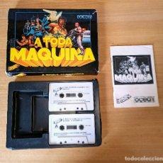 Videojuegos y Consolas: JUEGO SPECTRUM A TODA MAQUINA - COMPLETO - EDICION ESPAÑOLA. Lote 232831190