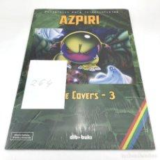 Videojuegos y Consolas: ALFONSO AZPIRI TAPE COVERS 3 PORTAFOLIO PARA COLECCIONISTAS. EDICION LIMITADA FIRMADA Y NUMERADA 264. Lote 233479920