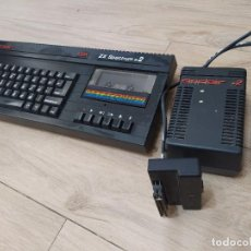 Videojogos e Consolas: ORDENADOR ZX SPECTRUM 128 + FUENTE DE ALIMENTACIÓN. Lote 234877435