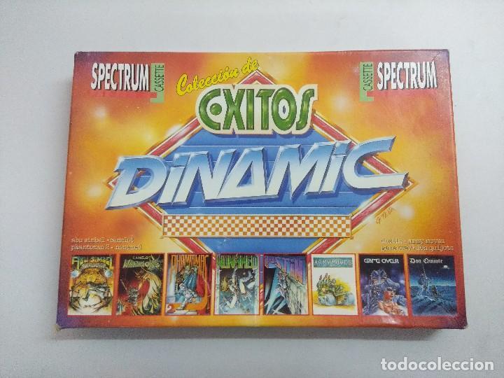 JUEGO EXITOS DINAMIC SPECTRUM 1985-1988. (Juguetes - Videojuegos y Consolas - Spectrum)