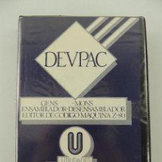 Videojuegos y Consolas: HISOFT DEVPAC ZX SPECTRUM 48K PLUS HISOFT. Lote 235053700