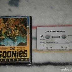 Videojogos e Consolas: JUEGO SINCLAIR ZX SPECTRUM 48/128K - THE GOONIES (US GOLD/DATASOFT, ERBE) EDICIÓN EN ESTUCHE. Lote 235125315