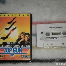 Videojogos e Consolas: JUEGO SINCLAIR ZX SPECTRUM 48/128K - TOP GUN (OCEAN, ERBE) EDICIÓN EN ESTUCHE. Lote 235125550