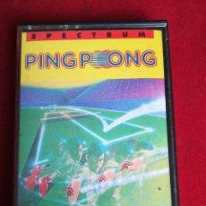 Videojuegos y Consolas: SPECTRUM PINGPONG ORIGINAL ERBE IMAGINÉ KONAMI. Lote 235425315