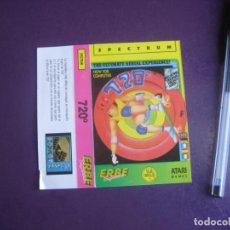 Videojuegos y Consolas: 720 - SPECTRUM - ERBE - SOLO CARATULA - NUEVA. Lote 235478970