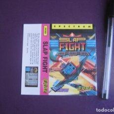 Videojuegos y Consolas: SLAP FIGHT - SPECTRUM - ERBE - SOLO CARATULA - NUEVA. Lote 235480000