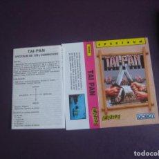 Videojuegos y Consolas: TAI PAN - SPECTRUM - ERBE - SOLO CARATULA - NUEVA - LIBRETO INSTRUCCIONES. Lote 235480645