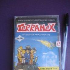 Videojuegos y Consolas: TERRAMEX - SPECTRUM 48 K - VIDEOJUEGO VINTAGE - ZAFIRO 80'S - PRECINTADO. Lote 235932465
