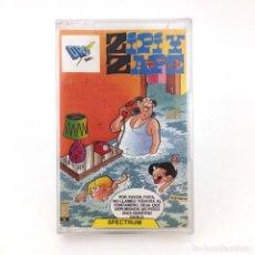Videojogos e Consolas: ZIPI Y ZAPE DRO SOFT ESPAÑA TEBEO JOSE ESCOBAR AVENTURA CONVERSACIONAL SINCLAIR ZX SPECTRUM CASSETTE. Lote 236296445