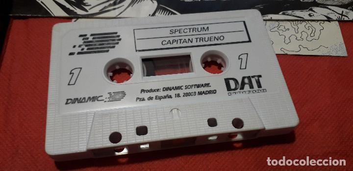Videojuegos y Consolas: 08-00388 -SPECTRUM -JUEGO EL CAPITAN TRUENO - Foto 5 - 236983410