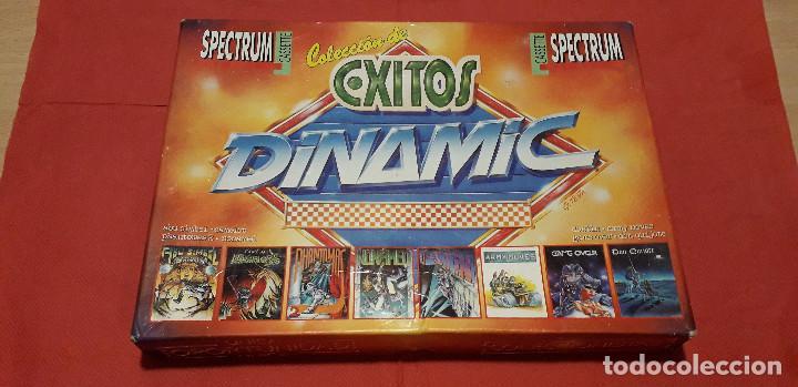 08-00389 -SPECTRUM -JUEGOS - COLECCION DE EXITOS DINAMIC (Juguetes - Videojuegos y Consolas - Spectrum)