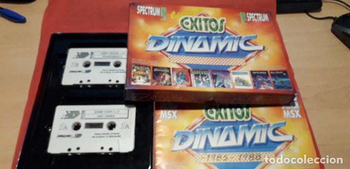 Videojuegos y Consolas: 08-00389 -SPECTRUM -JUEGOS - COLECCION DE EXITOS DINAMIC - Foto 3 - 236984020
