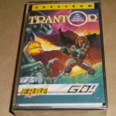 Videojuegos y Consolas: TRANTOR - ZX - SPECTRUM - PRECINTADO. Lote 239852545
