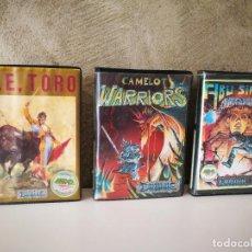Videojuegos y Consolas: OLE TORO CAMELOT WARRIORS ABU SIMBEL PROFANATION EN ESTUCHE SPECTRUM. Lote 240105040