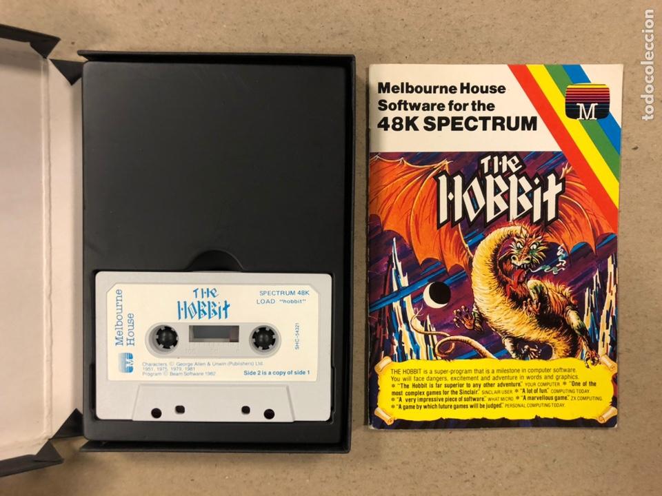 Videojuegos y Consolas: THE HOBBIT. JUEGO EN CASETE PARA SPECTRUM. CON CAJA E INSTRUCCIONES. - Foto 3 - 241698120