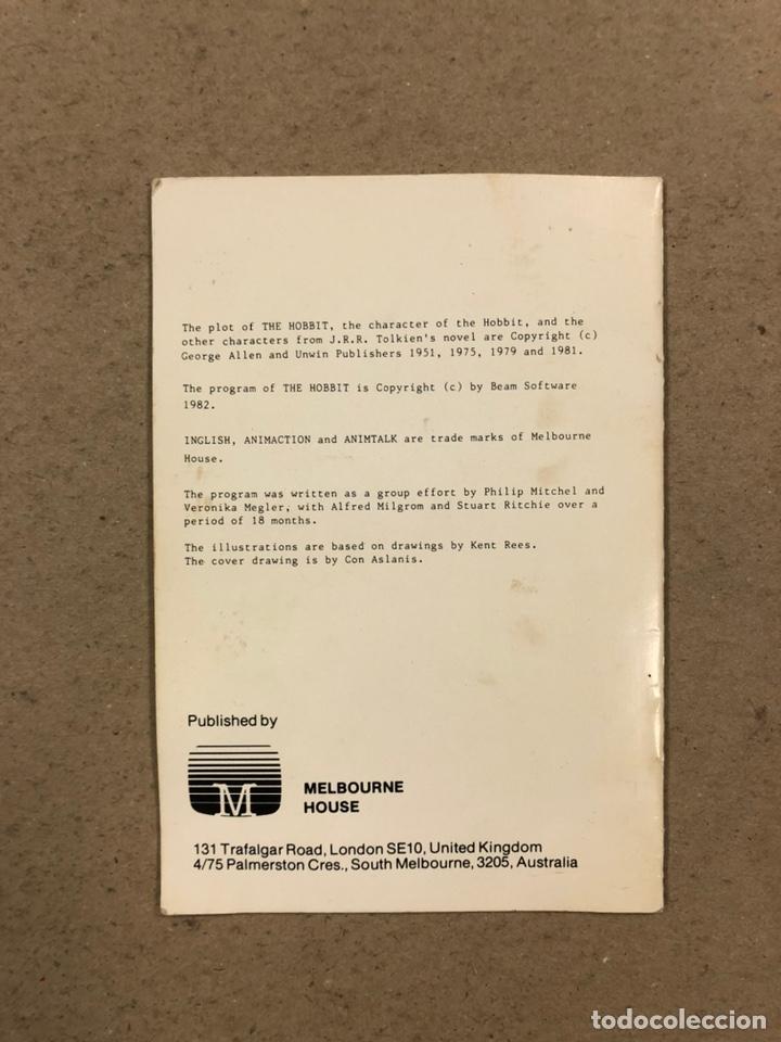 Videojuegos y Consolas: THE HOBBIT. JUEGO EN CASETE PARA SPECTRUM. CON CAJA E INSTRUCCIONES. - Foto 6 - 241698120