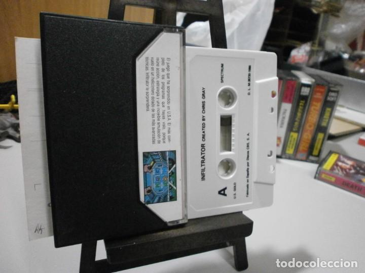 Videojuegos y Consolas: juego spectrum infiltrator - Foto 2 - 241724365