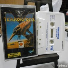 Videojuegos y Consolas: DIFICIL JUEGO SPECTRUM TERRORPODS. Lote 241725740