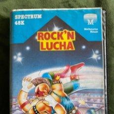 Videojuegos y Consolas: ANTIGUO JUEGO SPECTRUM ROCK'N LUCHA WRESTLE. Lote 242131660
