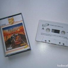 Videojuegos y Consolas: JUEGO DE SPECTRUM - TURBO OUTRUN - CAJA PEQUEÑA - ERBE SOFTWARE - OUT RUN. Lote 244178895