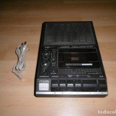 Videojuegos y Consolas: RADIO CASSETTE PARA ORDENADORES DE 8 BITS. PHILIS N2235. FADING, PITCH. UN LUJO. FUNCIONANDO OK.. Lote 244590980