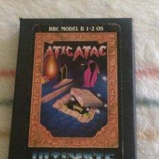 Videojuegos y Consolas: JUEGO BBC MICRO B-1/2 - ATIC ATAC (ULTIMATE PLAY THE GAME) TAGS: SPECTRUM, AMSTRAD, COMMODORE, ETC. Lote 244693460