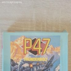 Videojuegos y Consolas: P47 THUNDERBOLT- SPECTRUM CASSETTE-CAJA CARTÓN-JALECO-AÑO 1990. DIFÍCIL.. Lote 244720730