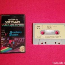 Videojuegos y Consolas: CINTA VIDEOSPECTRUM REVISTA DE SOFTWARE NUMERO 2. Lote 245485845