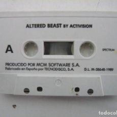 Videojuegos y Consolas: ALTERED BEAST / SINCLAIR ZX SPECTRUM / RETRO VINTAGE / CASSETTE - CINTA. Lote 246141645