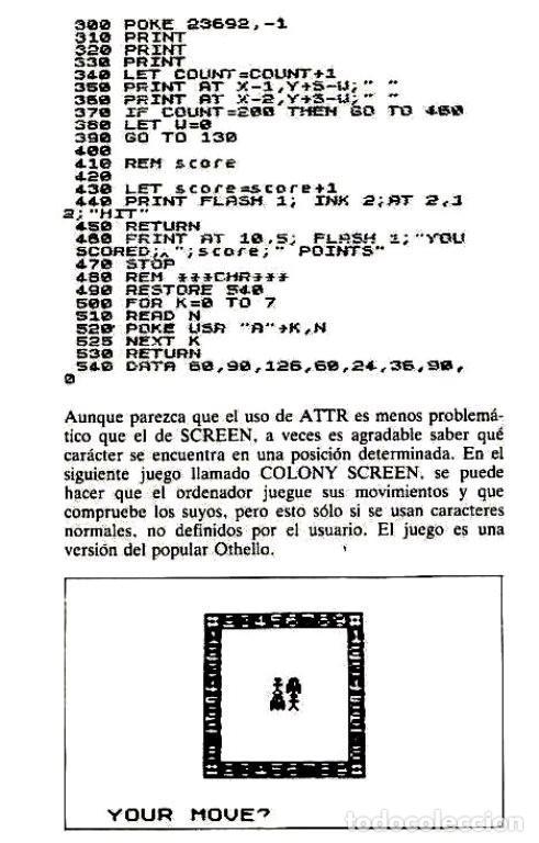 Videojuegos y Consolas: SPECTRUM. ZX. MANUAL. QUE ES. PARA QUE SIRVE. COMO SE USA. TIM LANGDELL. - Foto 5 - 247601000