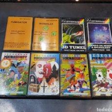 Videojuegos y Consolas: LOTE SPECTRUM MICROHOBBY CASSETTE TOTAL DE 8 PIEZAS. Lote 248155960