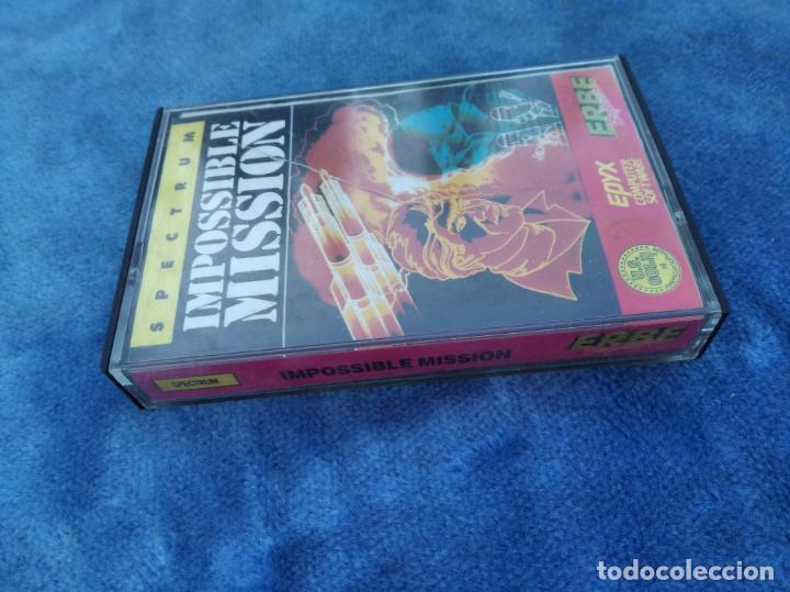 Videojuegos y Consolas: IMPOSSIBLE MISSION - ZX SPECTRUM - VIDEOJUEGO ---------------------3XY - Foto 2 - 251300625