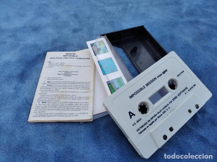 Videojuegos y Consolas: IMPOSSIBLE MISSION - ZX SPECTRUM - VIDEOJUEGO ---------------------3XY - Foto 3 - 251300625