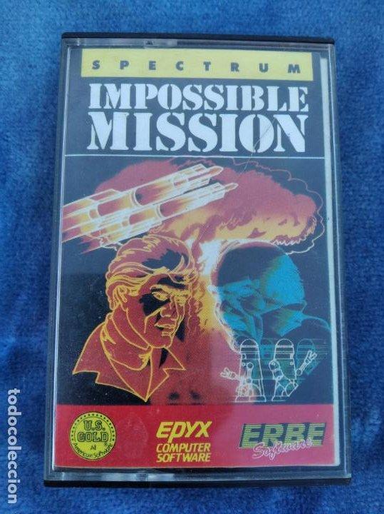 IMPOSSIBLE MISSION - ZX SPECTRUM - VIDEOJUEGO ---------------------3XY (Juguetes - Videojuegos y Consolas - Spectrum)