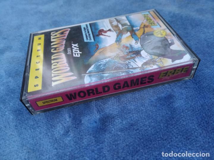Videojuegos y Consolas: WORLD GAMES - ZX SPECTRUM - VIDEOJUEGO ---------------------3XY - Foto 2 - 251300950