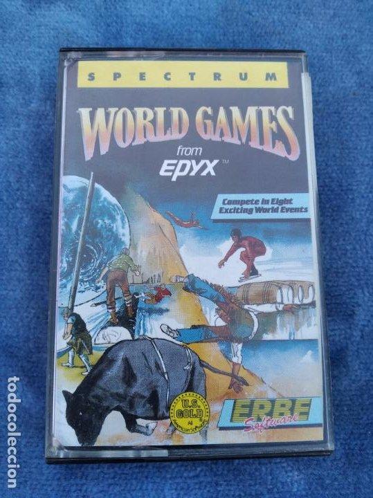 WORLD GAMES - ZX SPECTRUM - VIDEOJUEGO ---------------------3XY (Juguetes - Videojuegos y Consolas - Spectrum)