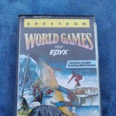 Videojuegos y Consolas: WORLD GAMES - ZX SPECTRUM - VIDEOJUEGO ---------------------3XY. Lote 251300950